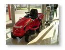 Honda fűnyíró traktor